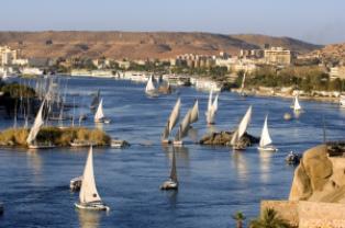 Louxor, Croisière sur le Nil, Egypte, temple de Louxor
