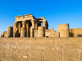 Croisière sur le Nil, M/S Nile Stephanie, temple, Horus, Egypte, Edfou