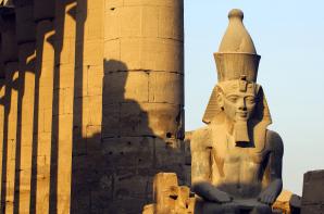 Deir el Bahari, Louxor, Egypte, Croisière sur le Nil, temple d'Hatchepsout