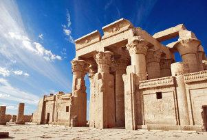Croisière sur le Nil, temple de Philaé, Assouan,  Egypte