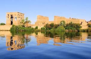Croisière sur le Nil, Abou Simbel, Egypte, temple